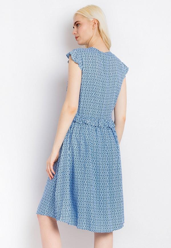 Платье Finn Flare цвет голубой  Фото 3