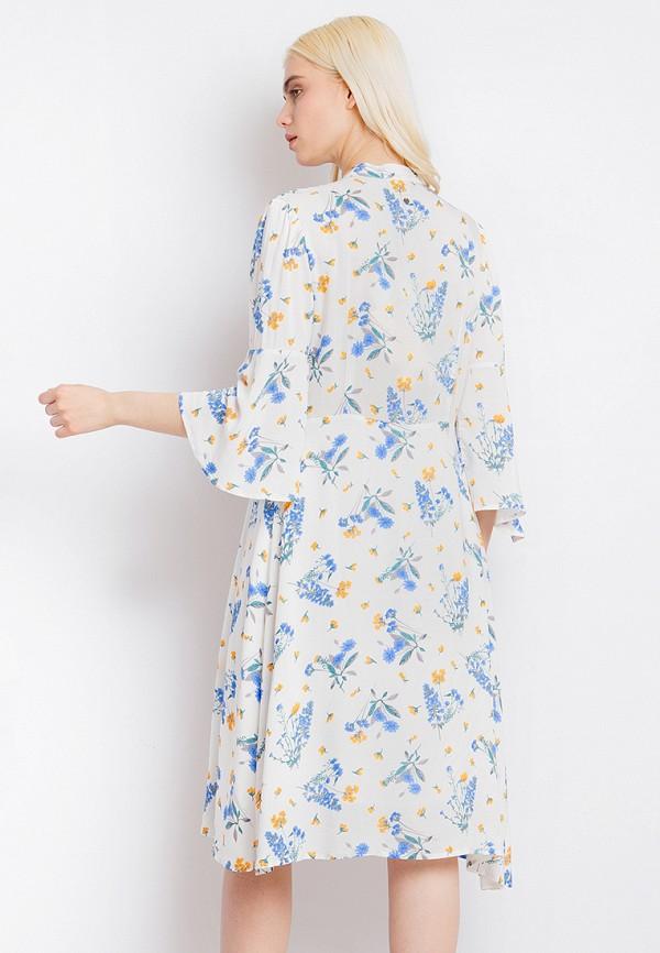 Платье Finn Flare цвет белый  Фото 3