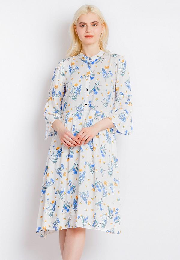 Платье Finn Flare цвет белый