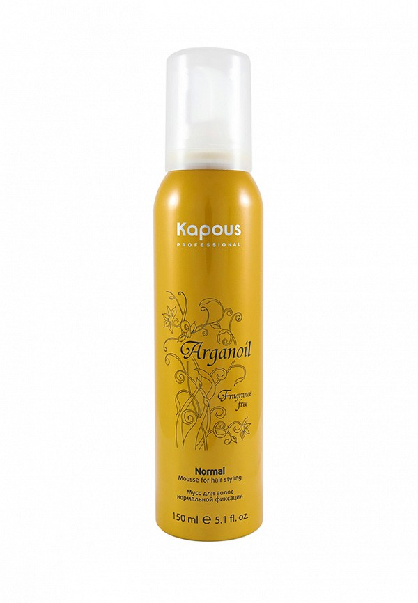 Мусс Kapous Fragrance Free Arganoil - Уход за волосами с маслом Арганы