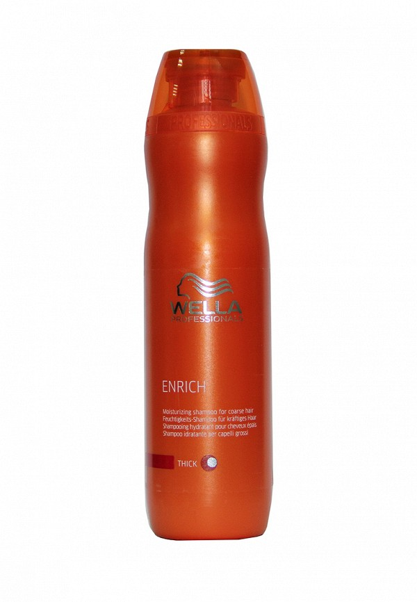 Питательный шампунь для увлажнения Wella Enrich Line - Питание и увлажение волос