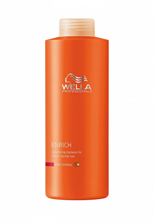 Питательный шампунь для объема Wella Enrich Line - Питание и увлажение волос