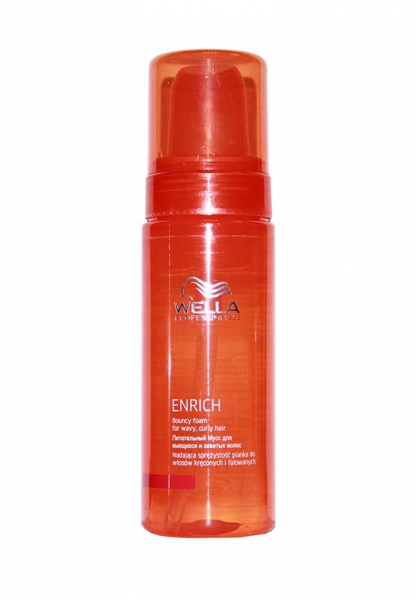 Мусс питательный Wella Enrich Line - Питание и увлажение волос