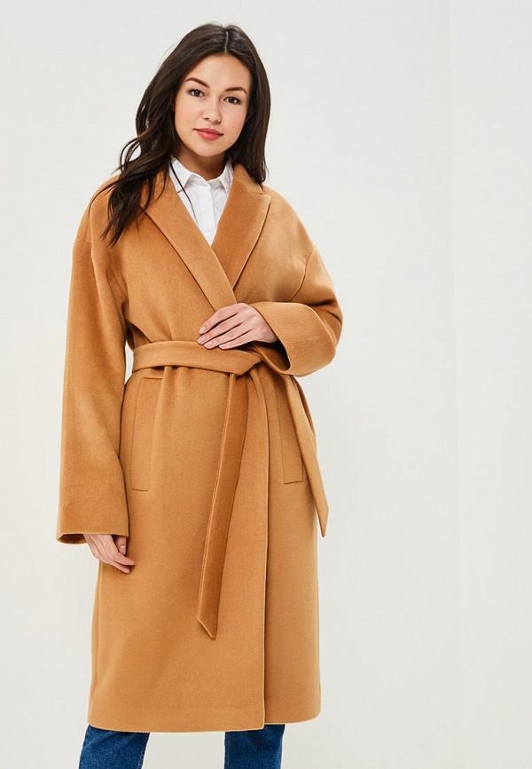 Пальто Maria Golubeva цвет коричневый