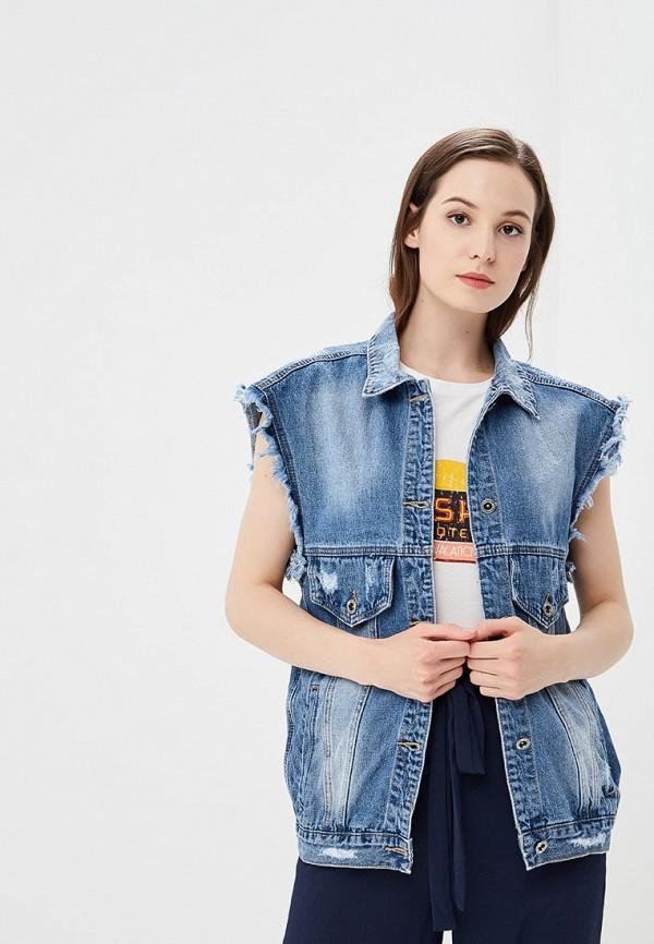 Жилет джинсовый Mossmore цвет синий