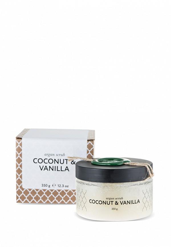 Скраб для тела Huilargan кокос-ваниль, аргановый солевой