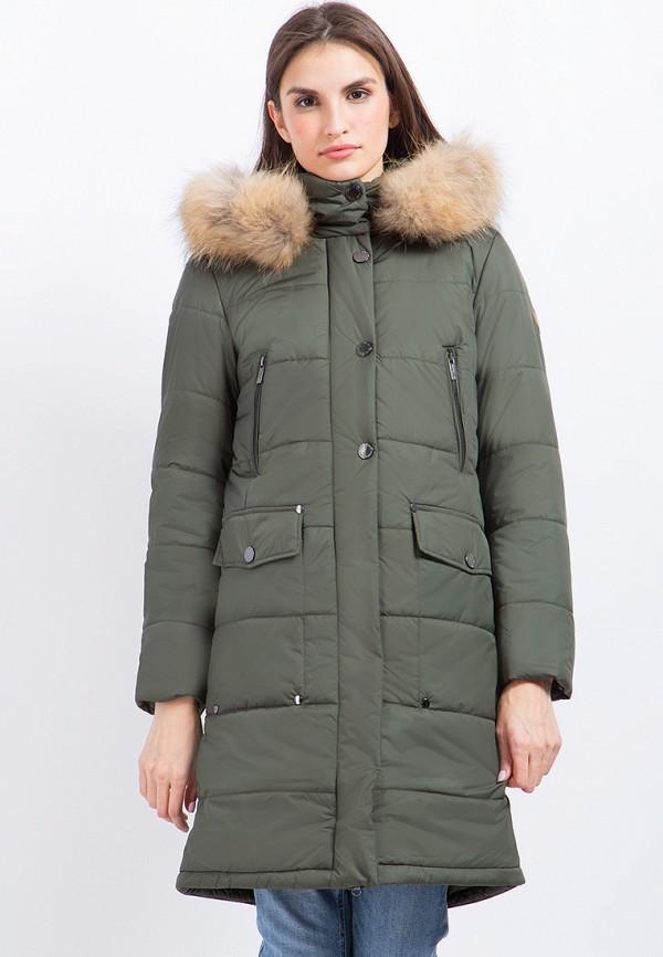 Куртка утепленная Finn Flare цвет зеленый