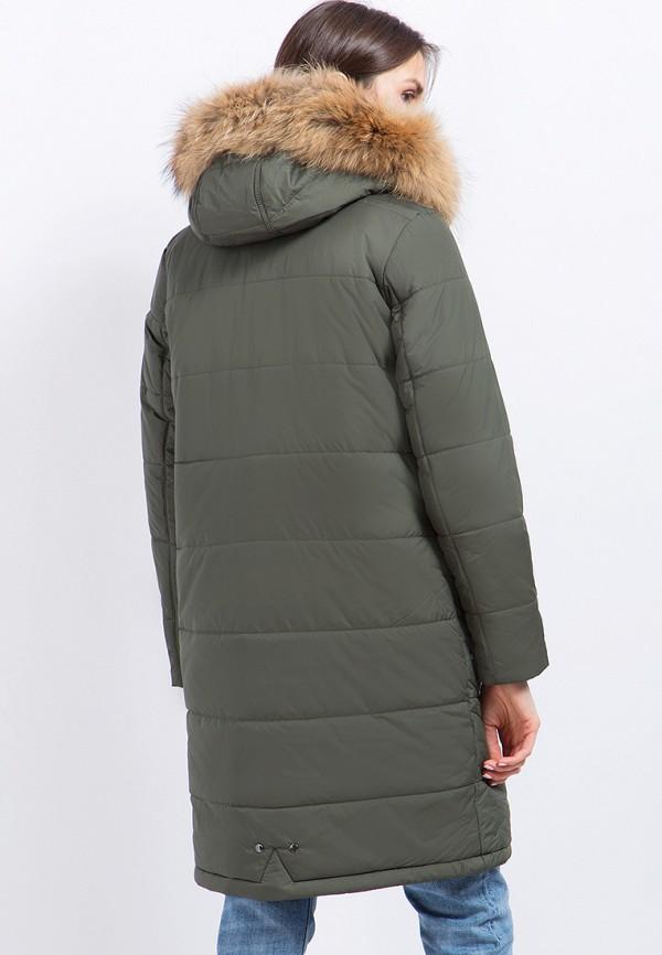 Куртка утепленная Finn Flare цвет зеленый  Фото 3