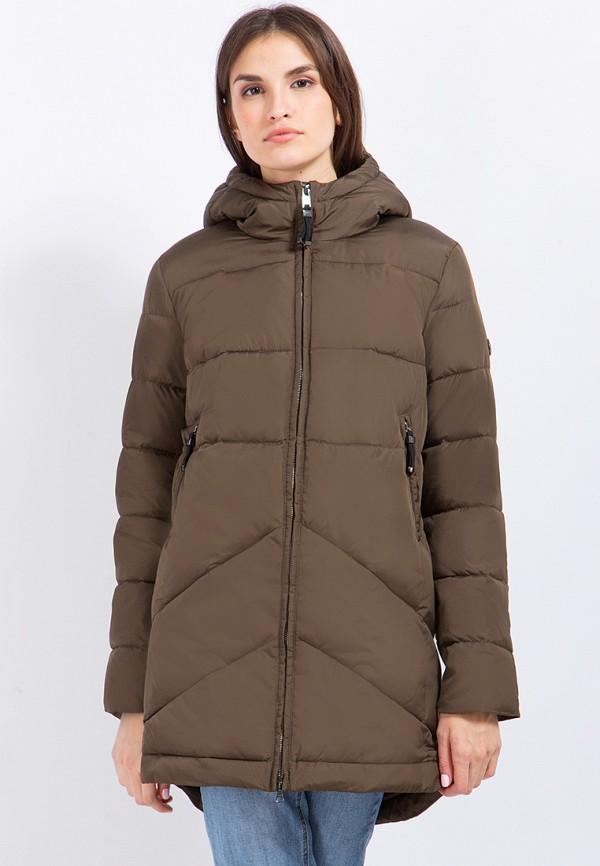 Куртка утепленная Finn Flare цвет коричневый