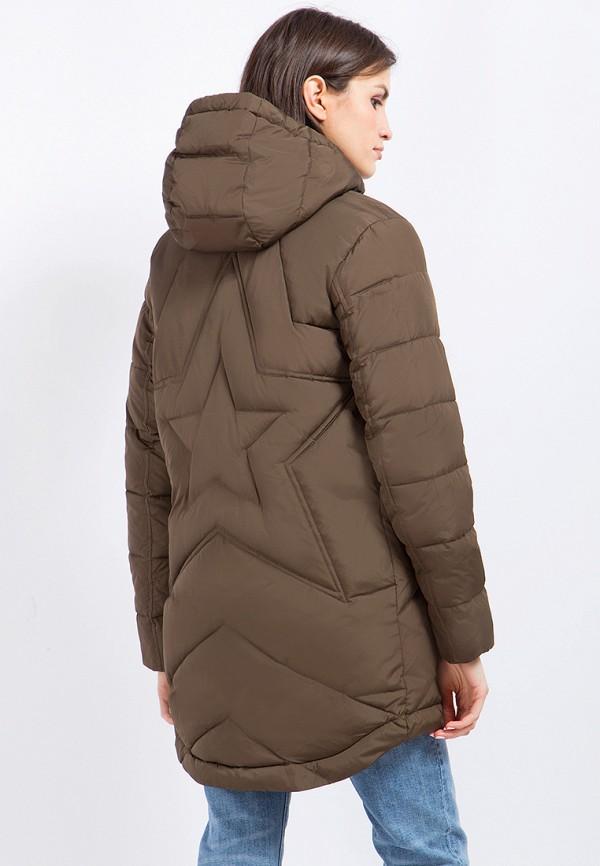 Куртка утепленная Finn Flare цвет коричневый  Фото 4