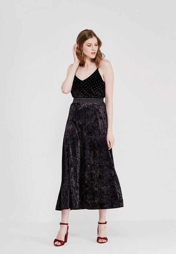 Юбка Lussotico цвет черный  Фото 2
