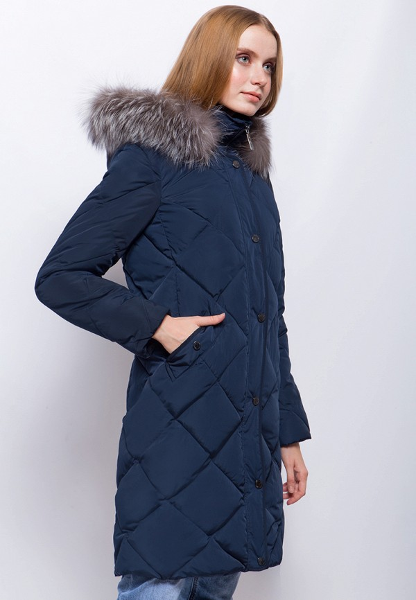 Куртка утепленная Finn Flare цвет синий  Фото 2