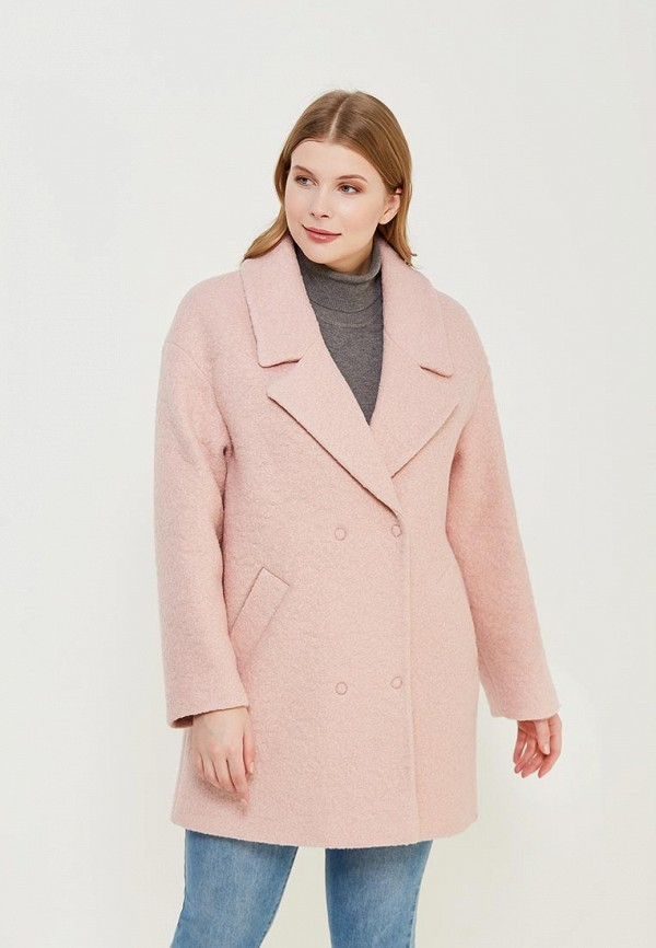 Пальто Синар цвет розовый