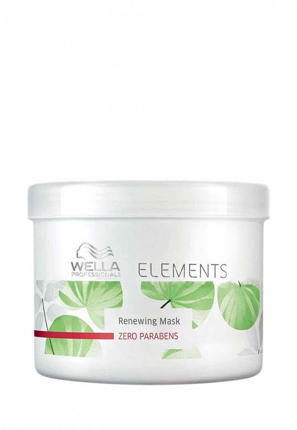 Маска обновляющая Wella Elements - Натуральная линия для ухода за волосами 500 мл