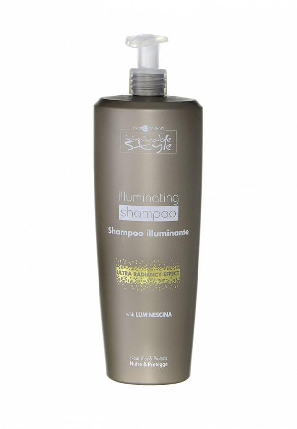 Шампунь для блеска волос 1 000 мл Hair Company Professional Inimitable ColorBlonde - Профессиональная продукция для окрашенных волос