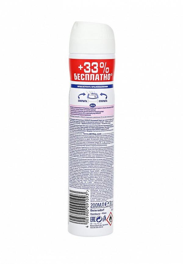 Дезодорант Nivea спрей, Невидимая защита для черного и белого. Чистый., Антиперспирант, 200 мл