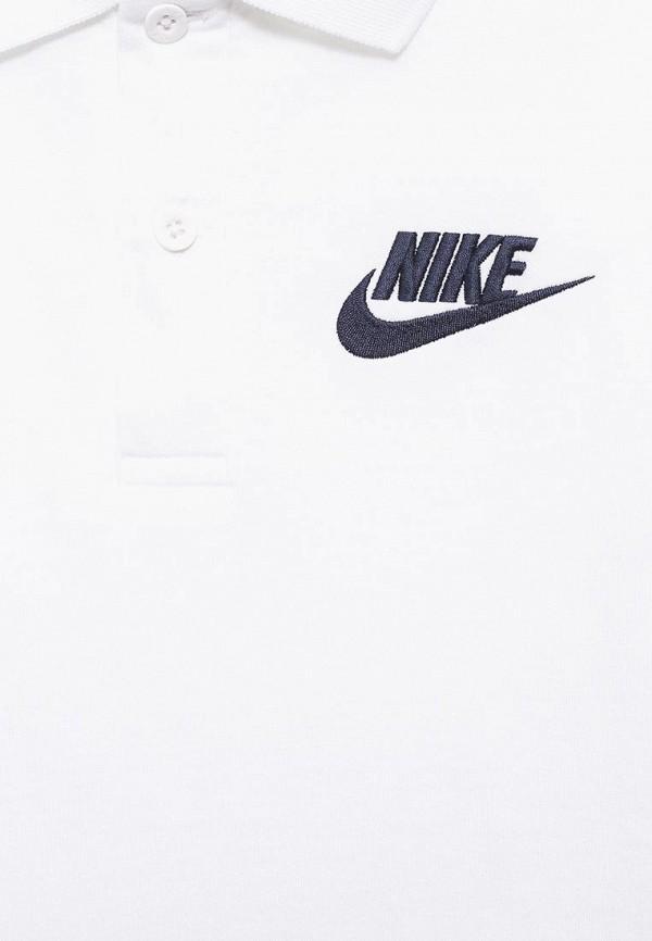 Поло для мальчика Nike 826437-100 Фото 3
