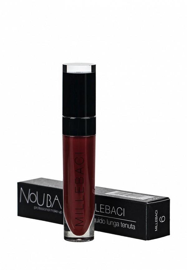 Помада Nouba Устойчивая  для губ MILLEBACI 06, 6мл