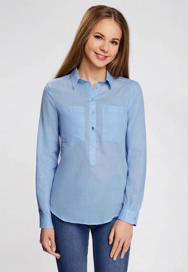 Рубашка oodji 11411101B/45561/7001N