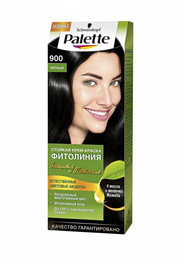 Краска для волос Palette ФИТОЛИНИЯ 900 Черный, 110 мл