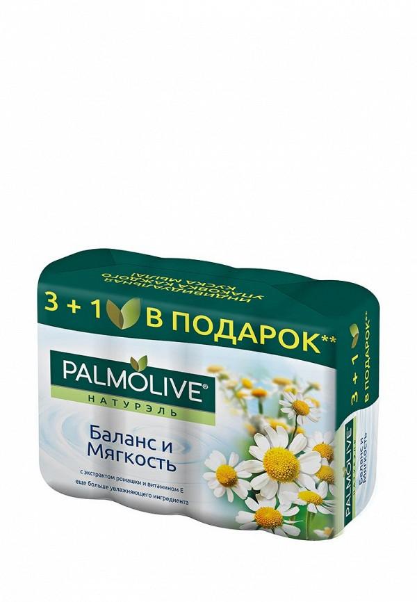 Мыло Palmolive Баланс и Мягкость с экстрактом ромашки и витамином Е,  4*90 г