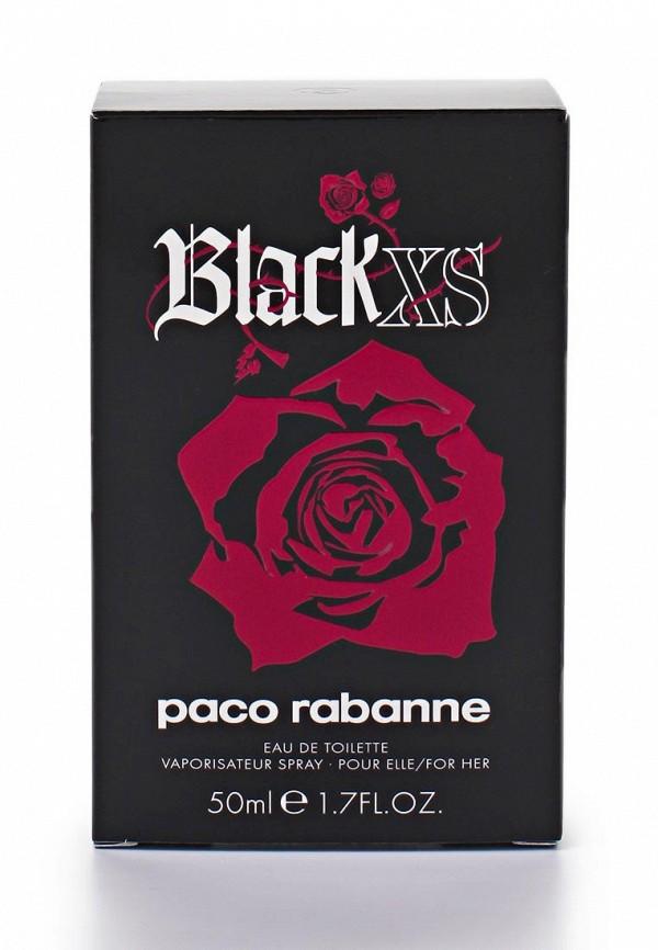 Туалетная вода Paco Rabanne Black XS For her 50 мл