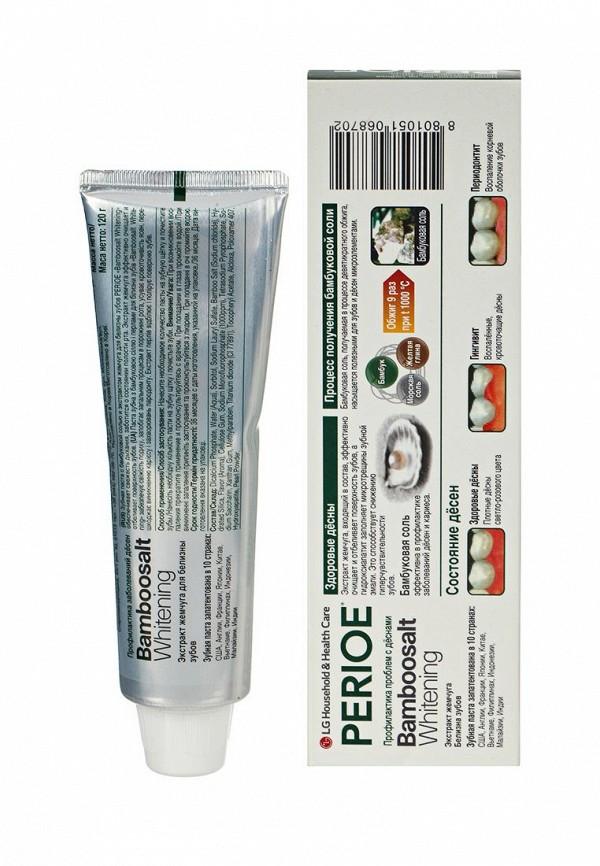 Зубная паста Perioe с бамбуковой солью bamboosalt whitening и экстрактом жемчуга для белизны зубов, 120 гр