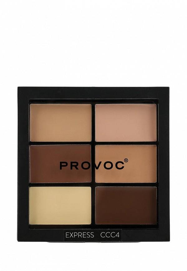 Палетка для лица Provoc (кремовая текстура) Medium Lig