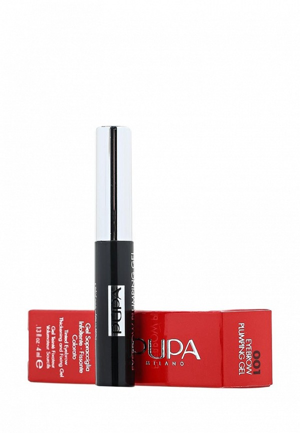 Гель Pupa для бровей EYEBROW PLUMPING GEL, 001 светлый