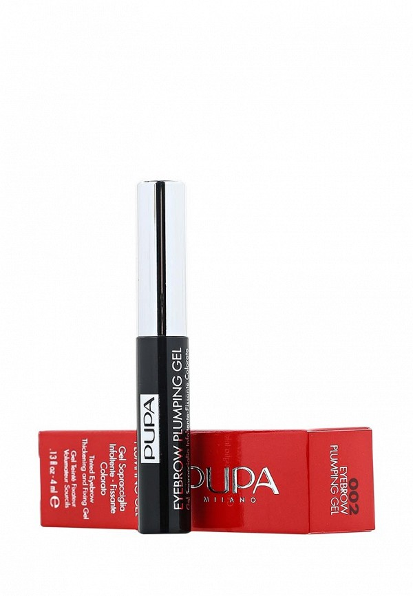 Гель Pupa для бровей EYEBROW PLUMPING GEL, 002 коричневый