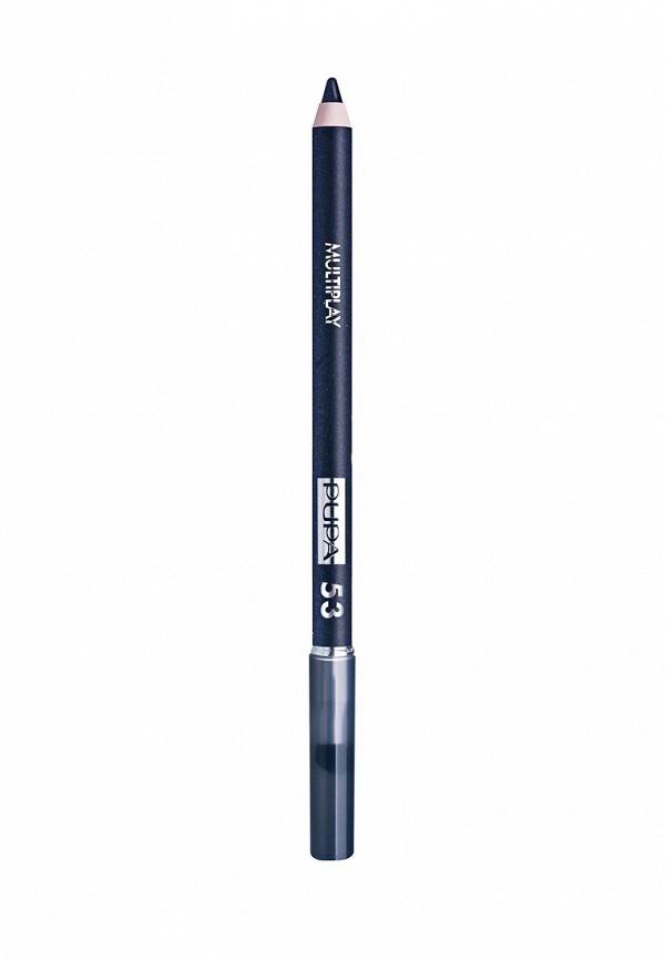 Карандаш для глаз Pupa с аппликатором Multiplay Eye Pencil, 53 Полночный синий