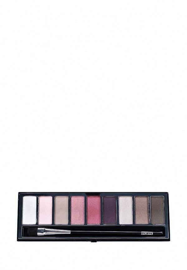 Тени для век Pupa тон 03 PUPART Eyeshadow Palette  коричнево-розовый