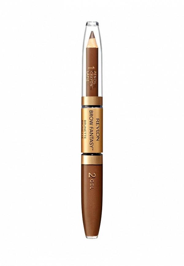 Карандаш Revlon и Гель Для Бровей Colorstay Brow Fantasy PencilGel Brunette 105