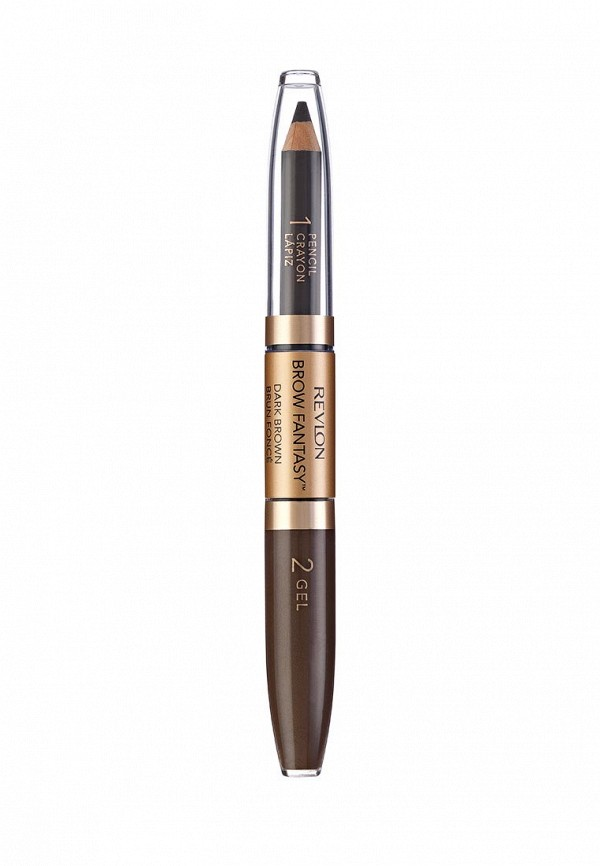 Карандаш Revlon и Гель Для Бровей Colorstay Brow Fantasy PencilGel Dark brown 106