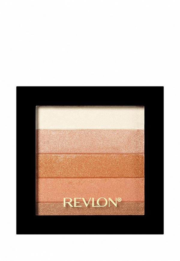 Палетка Revlon Хайлайтеров Для Лица Highlighting Palette Bronze glow 030