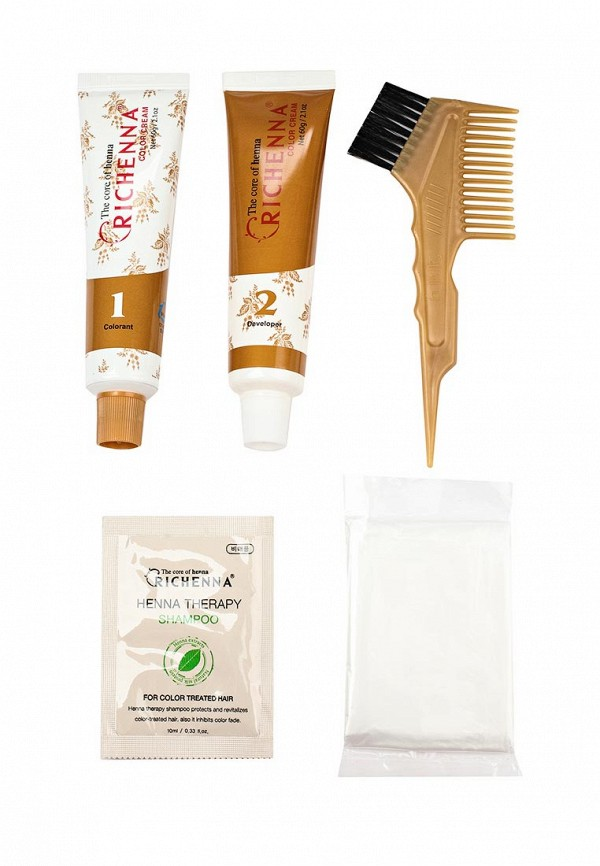 Крем-краска Richenna для волос с хной № 7YN Golden Blonde