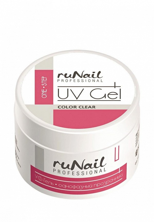 Гель-лак для ногтей Runail Professional Однофазный (цвет: прозрачный), 15 г
