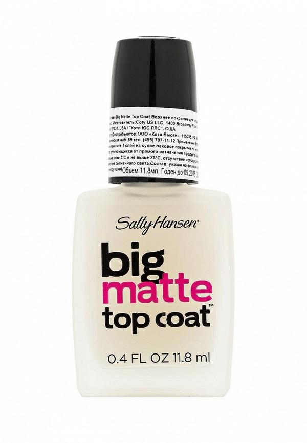 Покрытие Sally Hansen для создания матового эффекта big matte top coat