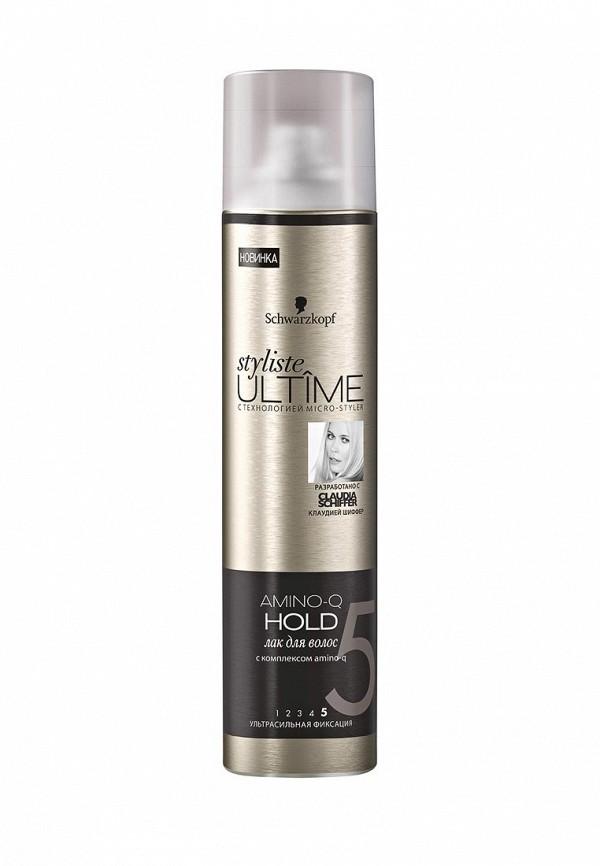 Лак для волос Schwarzkopf Styliste ULTIMEAMINO-Q HOLD, 300 мл