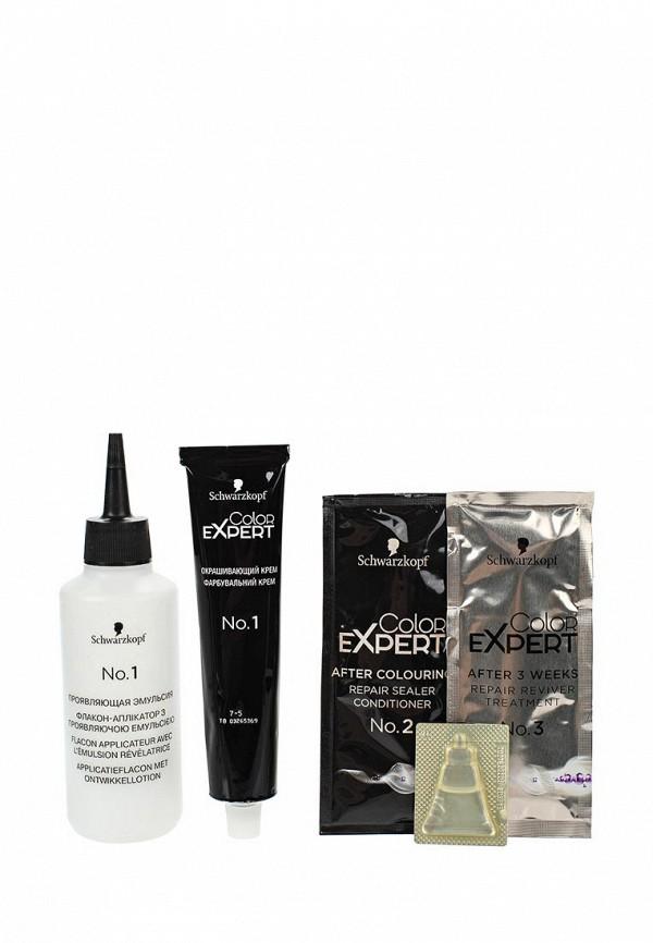 Краска для волос Schwarzkopf Color Expert для волос 7.5 Золотистый темно-русый, 167 мл