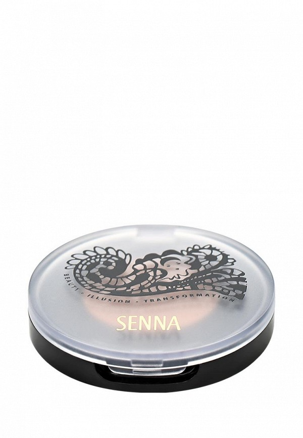 Тени Senna Eye Color Glow Powder Eyeshadow для век с шиммером, тон Arabesgue