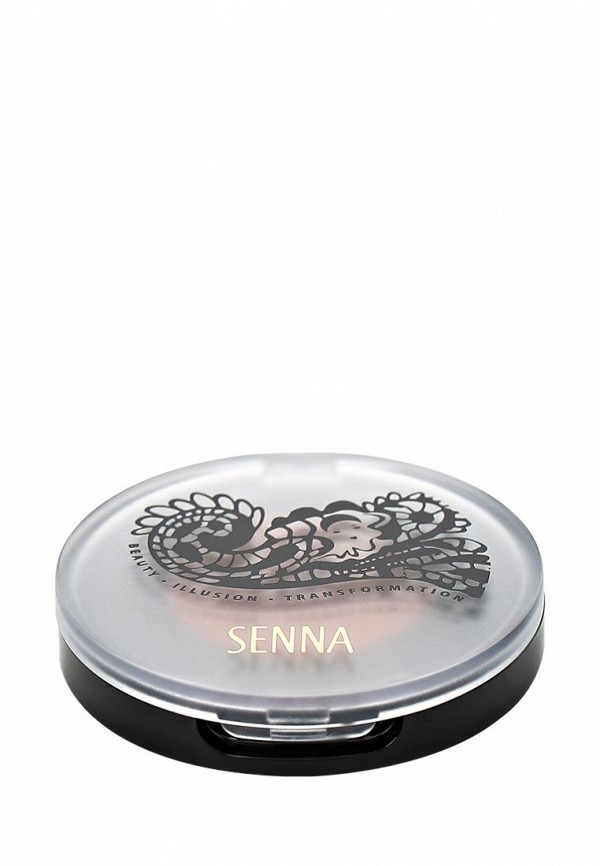 Тени Senna Eye Color Glow Powder Eyeshadow для век с шиммером, тон Copper