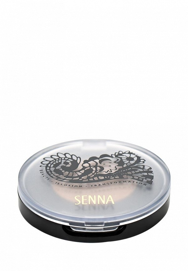 Тени Senna Eye Color Glow Powder Eyeshadow для век с шиммером, тон Sun Dance