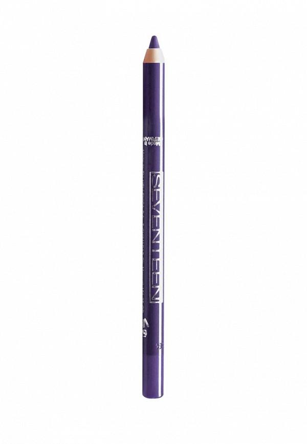 Карандаш для глаз Seventeen для век водостойкий т.44 Super Smooth W/PLongstay зимний пурпур