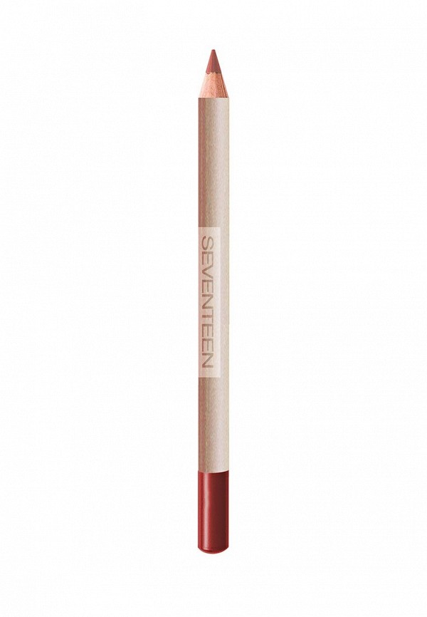 Карандаш для губ Seventeen для губ устойчивый т.21  LONGSTAY LIP SHAPER тёмный оранжевый