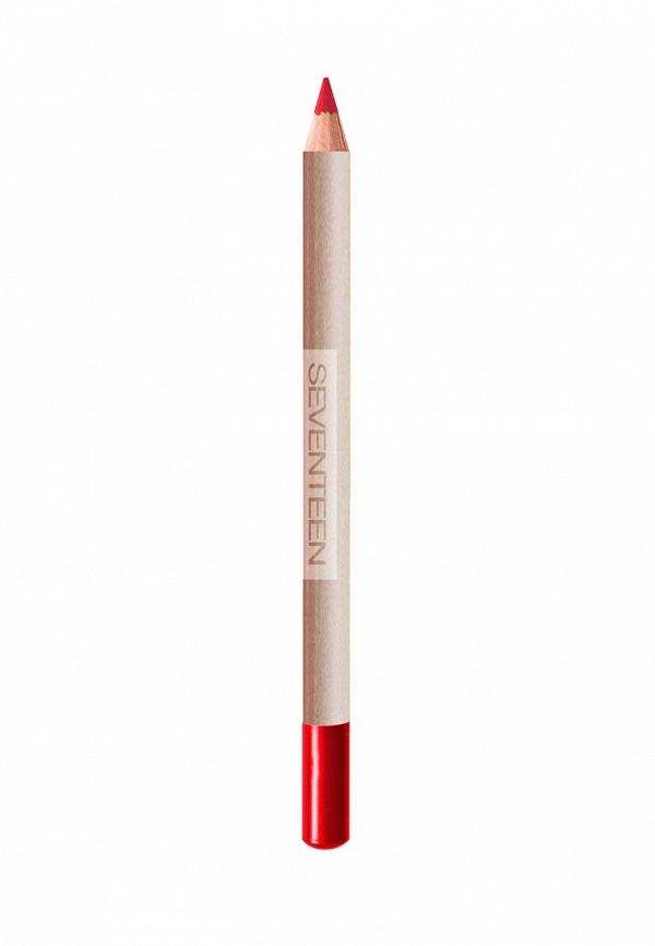 Карандаш для губ Seventeen для губ устойчивый т.31  LONGSTAY LIP SHAPER Красный