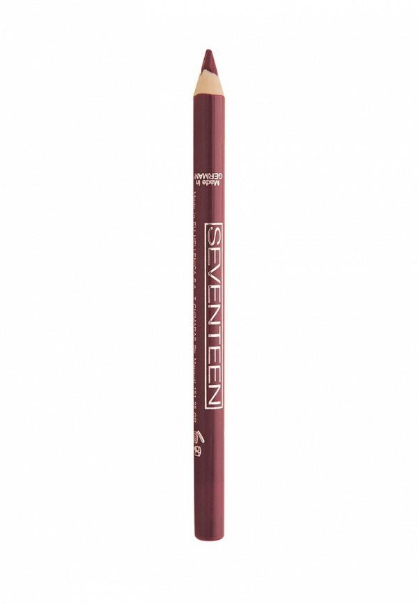 Карандаш для губ Seventeen для губ т.29 водостойкий с витамином Е Super Smooth W/P Lip Liner кофе мокко