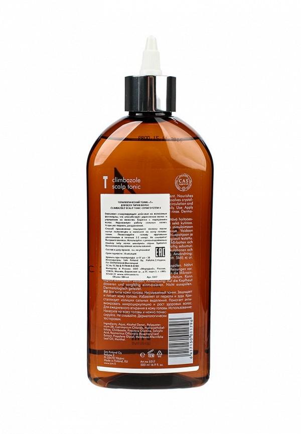 Тоник для волос Sim Sensitive Терапевтический SYSTEM 4 Climbazole Scalp Tonic Т , 500 мл