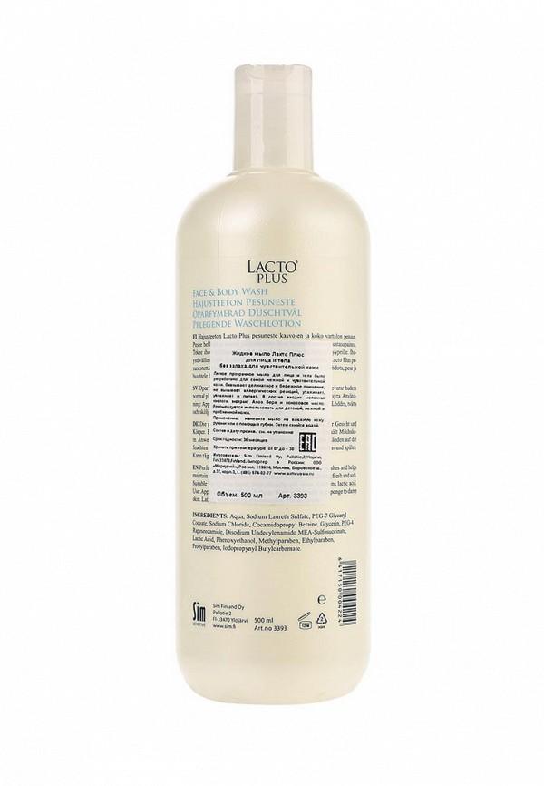 Мыло Sim Sensitive Жидкое Lacto plus без ароматизатора, 500 мл