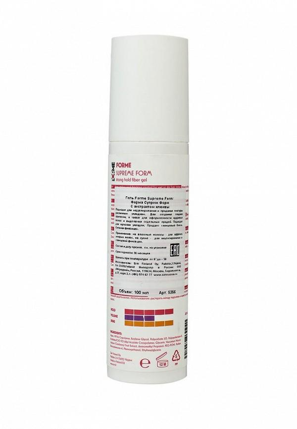Гель Sim Sensitive Волокнистый для укладки волос сильной фиксации серии Forme FORME Supreme Form Strong hold fiber Gel, 100 мл